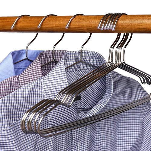 Stainless Steel Clothes Hangers - 30 Pack