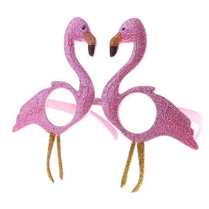 5a9c7597a1 Prettyia Novelty Flamingo Sunglasses Party Glasses Unisex Costume Fancy  Dress Cocktail Hen Do Party Fancy Dress