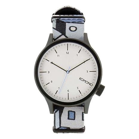 Komono Reloj para Hombre de Cuarzo con Correa en Cuero KOM-W1921