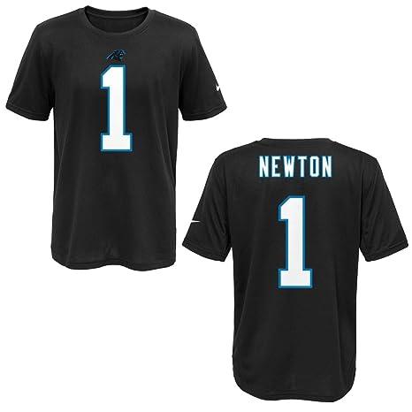 fa7c254fc Nike Carolina Panthers Cam Newton Black Youth Player Pride Tee2 T-Shirt  (Youth XL