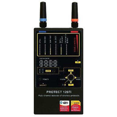 Protect 1207 I - con potente detector de chinches - escucha incautar/GSM, CDMA