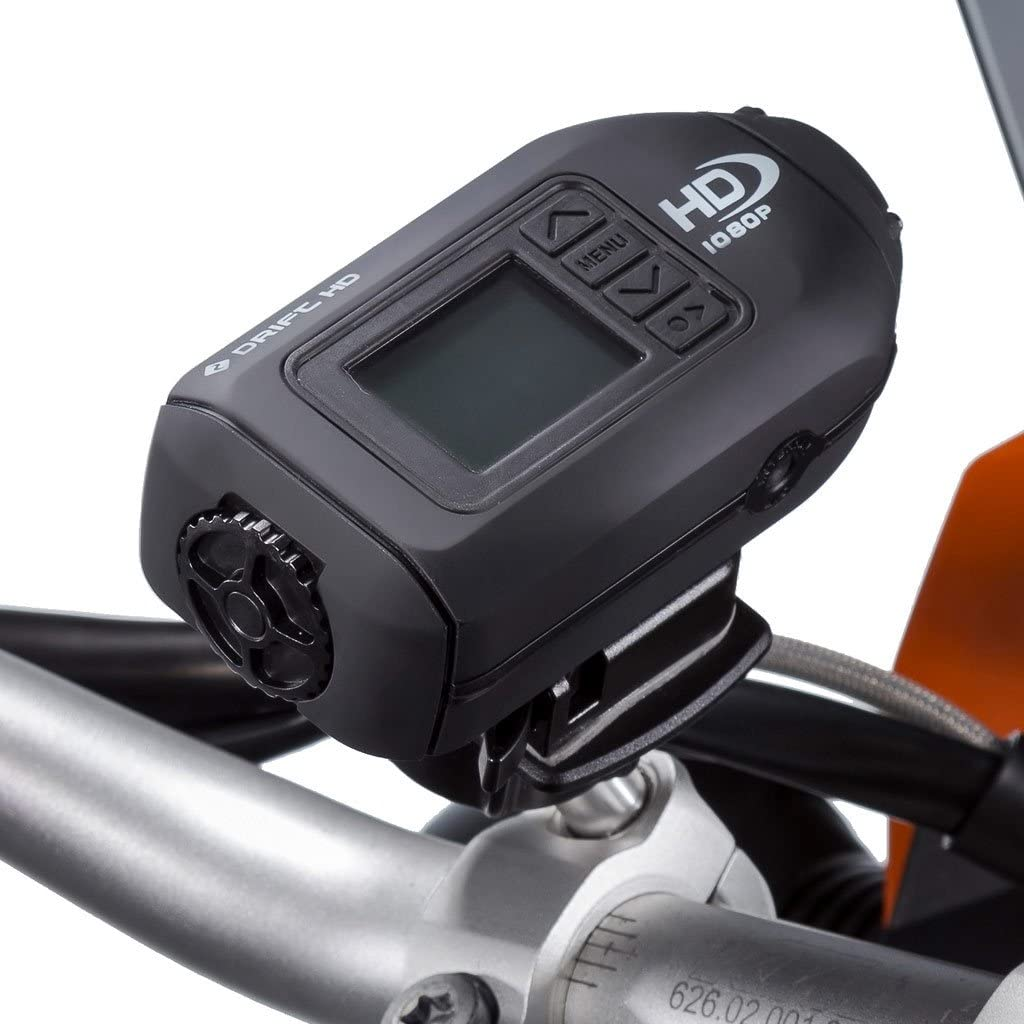 Ultimateaddons Motorcycle Handlebar M8 Clamp Bolt Drift Action Camera Kit