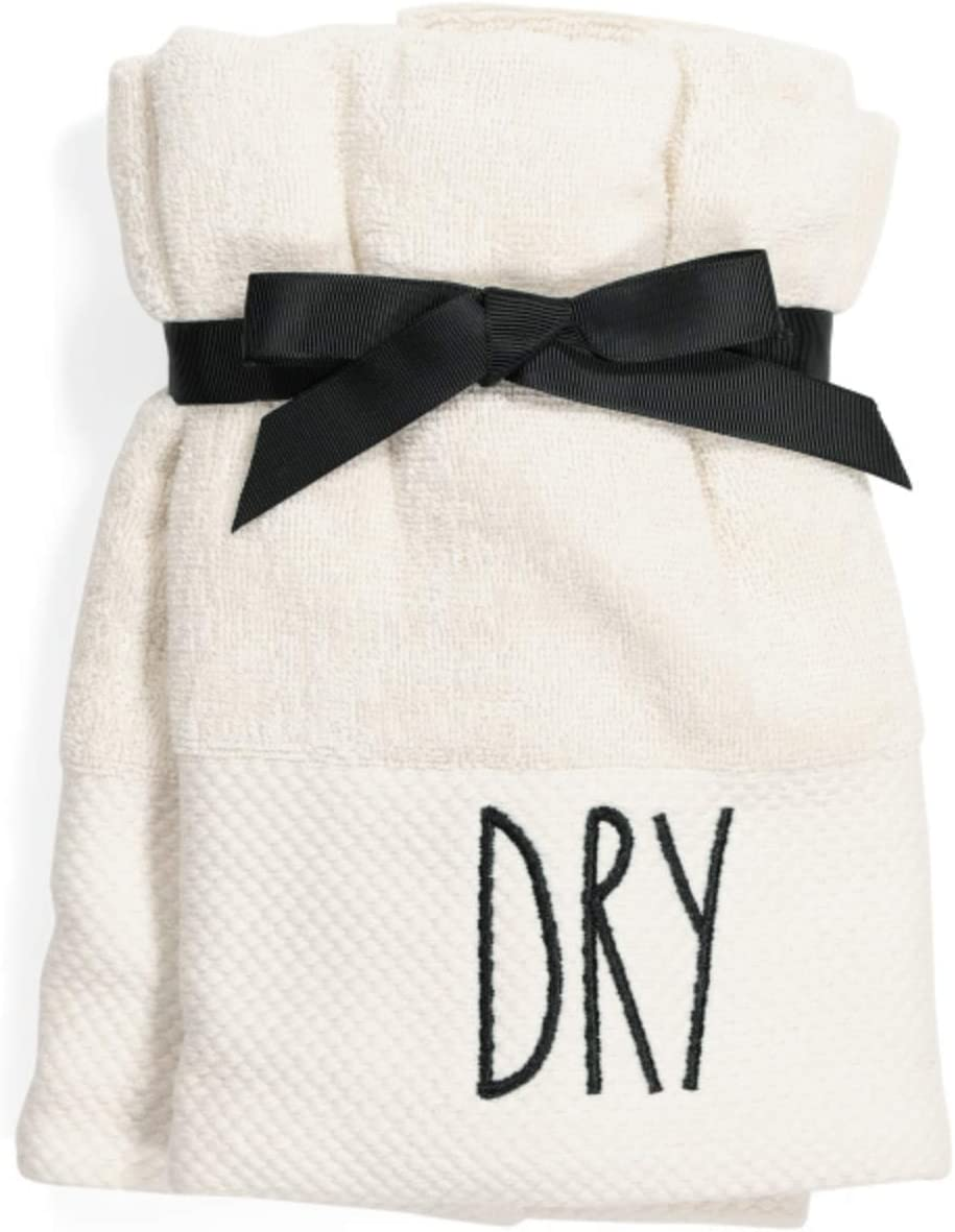 Rae Dunn by Magenta Hand Towels - Set of 2 (Dry)