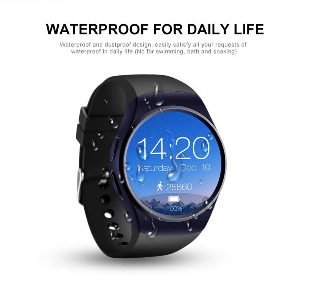 Amazon.com: Bluetooth Smartwatch MTK2502C Support SIM TF ...