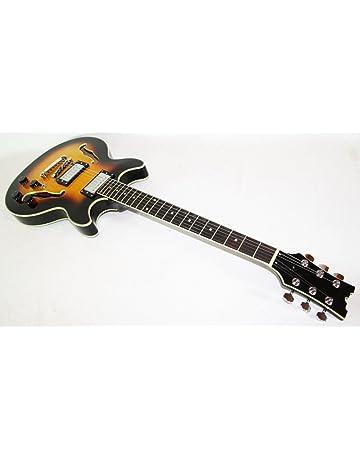 Cherrystone 4260180881172 – Guitarra eléctrica semiacústica, jazz, blues SB