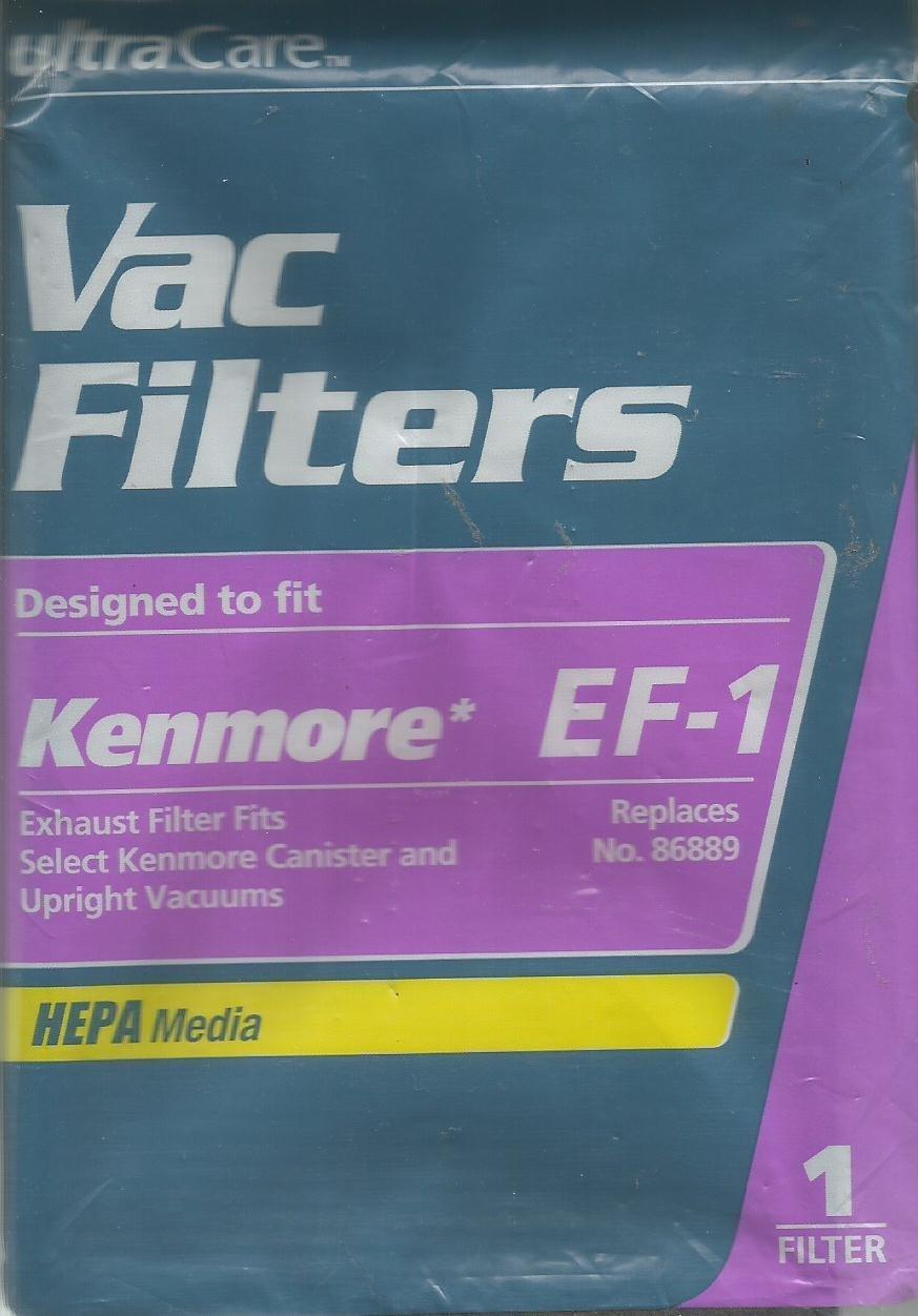 Ultra Care Hepa VacFilter Kenmore EF-1