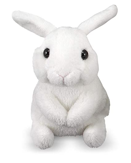 Amazon Com Melissa Doug Baby Bunny Hops Baby Doll Toys Games