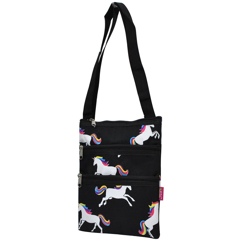 Unicorn Print NGIL Messenger Hipster Bag