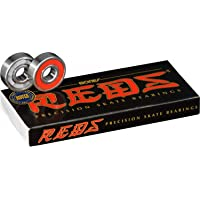Bones 'China Reds' Bearings. x8.