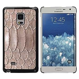 Design for Girls Plastic Cover Case FOR Samsung Galaxy Mega 5.8 Nature Reptile Skin Snake Brown Wallpaper OBBA