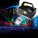 Sumger Professional DMX512 LED Stage Light RGY Laser Scanner DJ Disco Beam Stage Lighting Effect Laser Projector illumination Show Light Sound Activated with Remote for Festival Bar Club Party Wedding