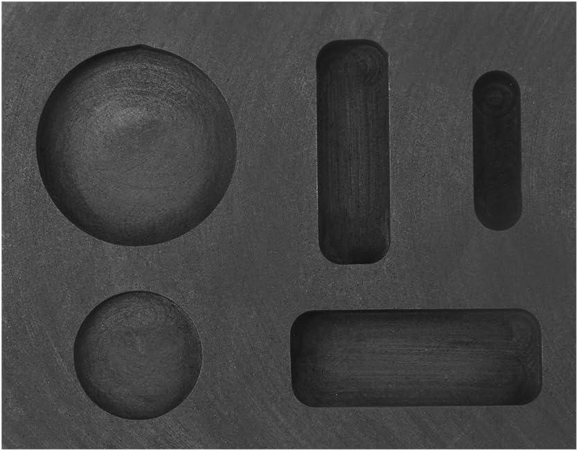 Parluna Graphite Crucible Tongs Smelting Bowl Furnace Casting Foundry Melting Tool