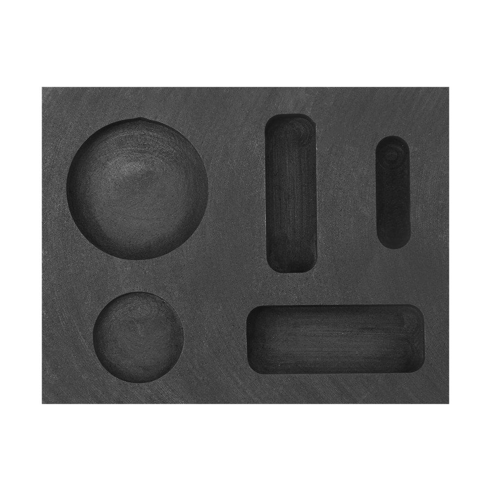 Combo Ingot Torch Melting Kit Mould Metal Torch Casting Kit Tong High Purity Graphite Crucible Bowl