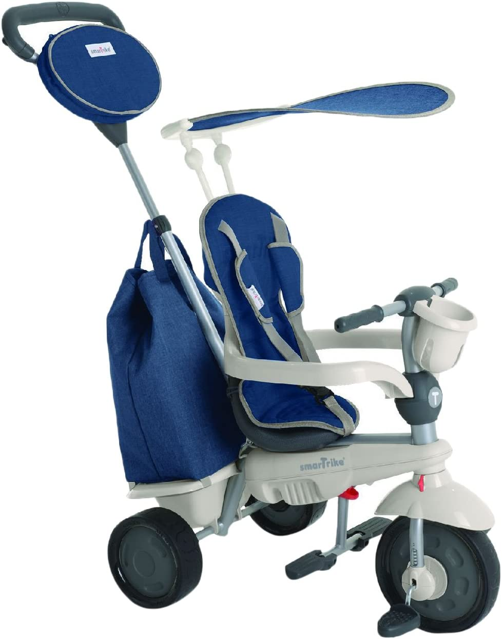 SMARTRIKE 1950700–Voyage–Triciclo para niños de 10Meses, Azul