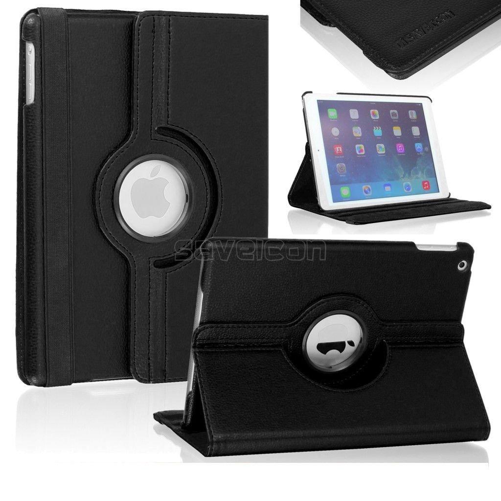 Housse iPad air noir 360/° PREMIUM Wipy/® Nouveau mod/èle avec veille intelligente