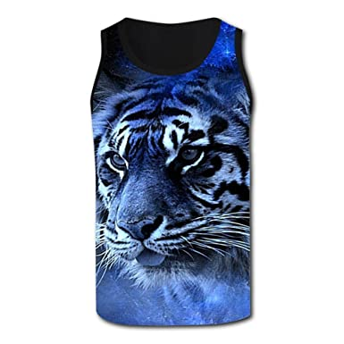 1596276174487a Mens 3D Printed Beautiful Nebula Tiger Tank Tops Sleeveless Shirt Gym  Sports Vest at Amazon Men s Clothing store