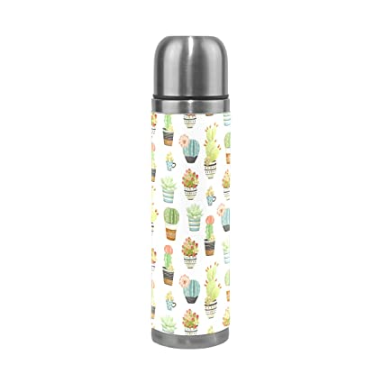 Amazon.com: ALAZA Cactus aislado al aspiradora Botella de ...