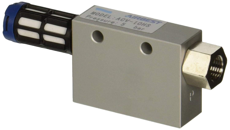"Vacuforce CV10H CV Vacuum Venturi Generator, 1.0 mm Nozzle, 26.5"" Hg"