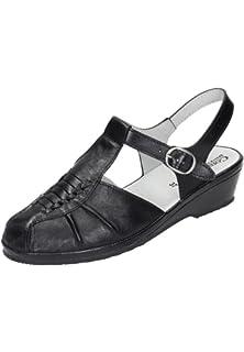 Comfortabel Damen-Schn?rer schwarz 950774-1, Gr. 38