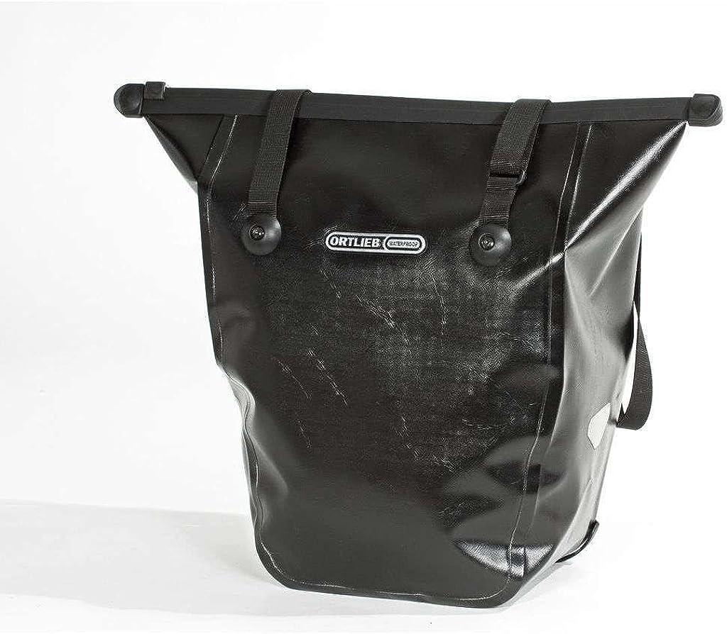 Ortlieb - Cesta para Bicicletas de Ciclismo, tamaño 20 l, Color Leder/Negro: Amazon.es: Ropa y accesorios