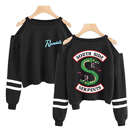 Amazon.com: South Side Serpents Sudaderas Crop Tops Sexy ...
