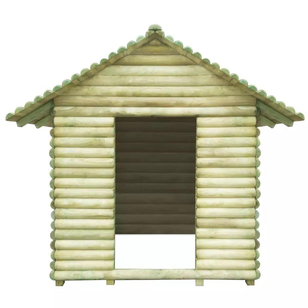 tidyard Casa de Verano para Niños,Casa de Juegos de Jardín,Caseta Jardín,Casa de Madera,Madera de Pino Impregnada 167x150x151cm: Amazon.es: Hogar