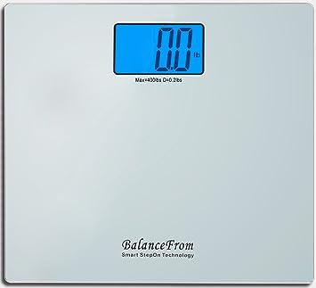Amazoncom BalanceFrom High Accuracy Digital Bathroom Scale With - Large display digital bathroom scales