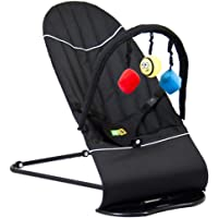 Baby Minder Bouncer (Brilliant Black) - 0-24 Months
