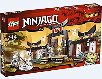 Amazoncom Lego Ninjago Spinjitzu Dojo 2504 Toys Games