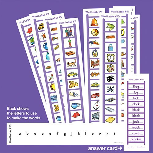 Primary Concepts AA1878 Word Ladder Fun]()