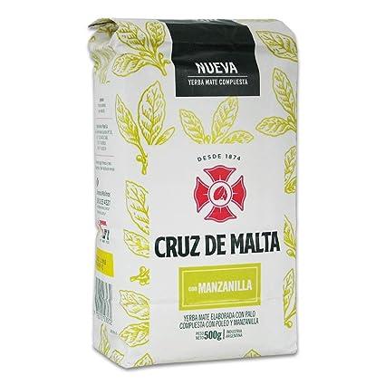 Manzanilla Cruz de Malta (manzanilla) - té mate de Argentina ...