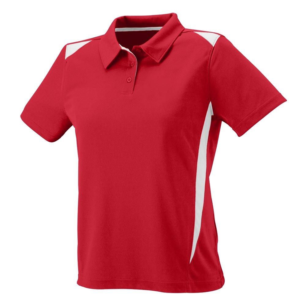 Augusta Sportswear WOMEN'S PREMIER SPORT SHIRT XL Red/White