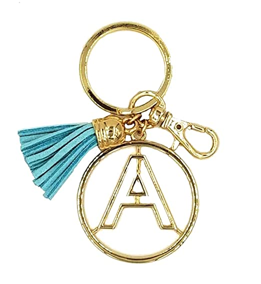 Crown Alphabet Initial Letter Keychain 0cef599ab8