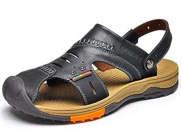 amp;xy Cuero Libre Los Aire Hombres De Sandalias Playa Al W Zapatos UMVGLqSzp