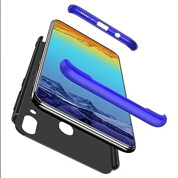 Lanpangzi Compatible con Funda Xiaomi Mi 9 Case + Vidrio Templado 360°Caja Carcasa Todo Incluido Anti-Scratch Case Cover Protectora de teléfono para ...