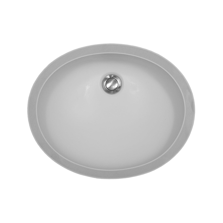 Karran A-306 Vanity Bowl Satin - White