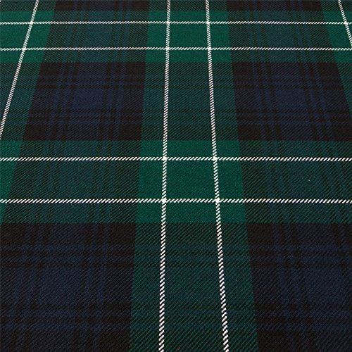 (Light Weight 10oz Fabric Material Abercrombie Modern Tartan 1 Metre)