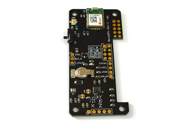 berrygps-imu - GPS y 10DOF para el Raspberry Pi - acelerómetro, giroscopio, magnetómetro y barométrica/Sensor de altitud: Amazon.es: Amazon.es