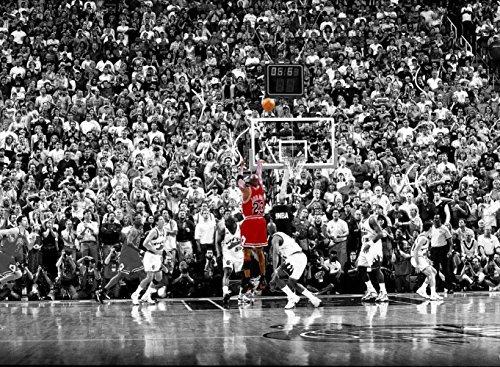 Cartoon world Michael Jordan Kobe Bryant Basketball College Room Poster Printed on Waterproof Canva