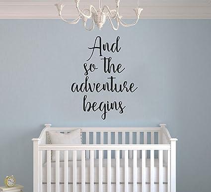 Así comienza la aventura - cita - para bebé niño/niña - guardería ...