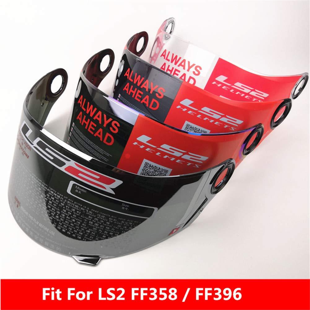 Clear//Transparent LS2 FF396 FF392 FF358 FF385 Helmet Visor Full Face Motorcycle Helmet Replacement Face Shield Lens