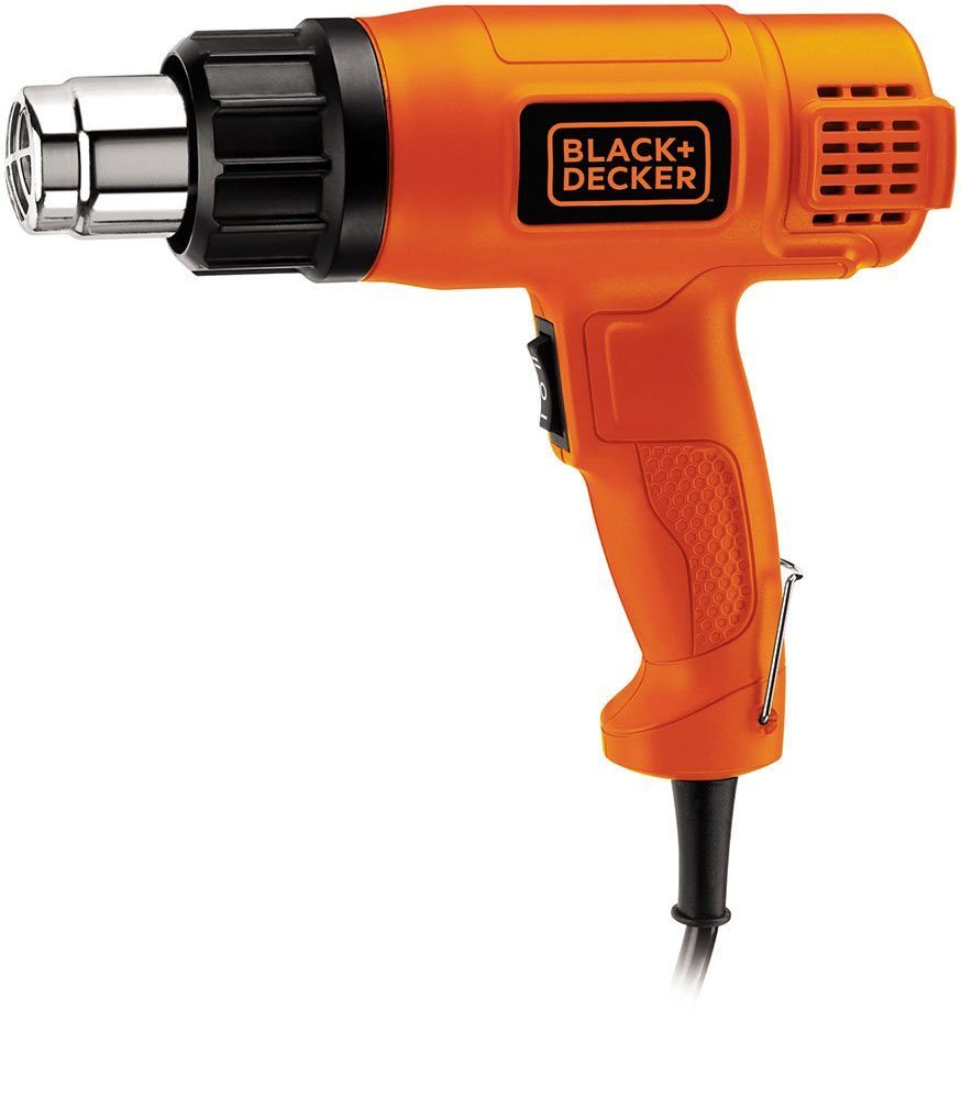 Black + Decker KX1800 1800-Watt Dual Temperature Heat Gun (Orange and Black)