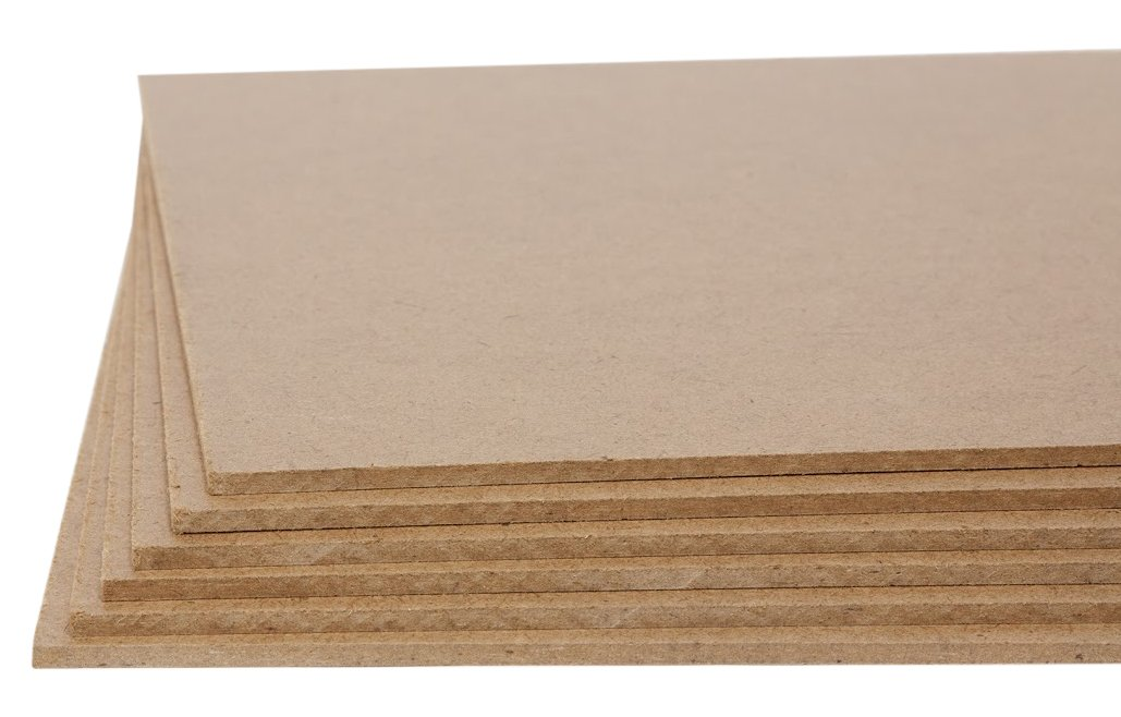 Jack Richeson Medium Density Untempered Hardboard(6 pack) ,  6x6