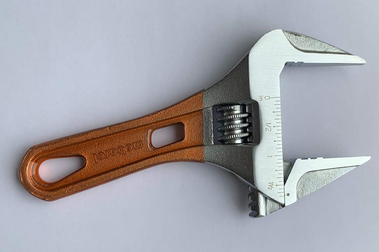 Wrench LS-53 53mm mobarel 2-1//16 Thin Stubby Wide Jaw opening Adj Wrench 2-1//16 Thin Stubby Wide Jaw opening Adj