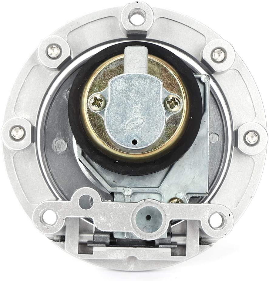 Qii lu Ignition Switch Fuel Gas Cap Seat Lock Key Set for YZF R6// YZF R1// FZ6// FZ09// FZ6R