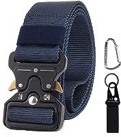 CoWalkers Cinturón táctico de, Estilo Militar Correa de Cintura de Nylon de Alta Resistencia Cinturón de Servicio Pesado...