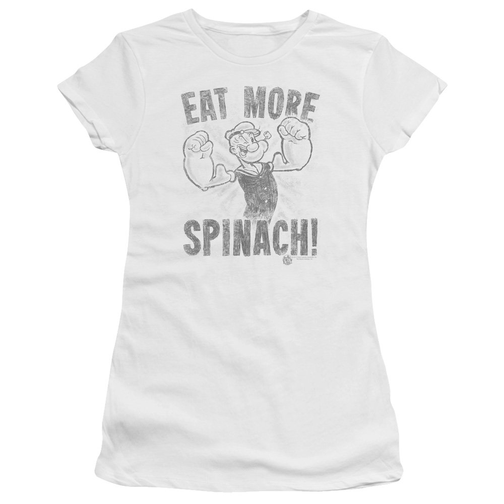 Popeye Eat More Spinach Premium T Shirt