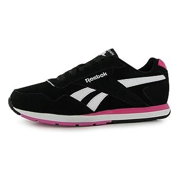 De Color Zapatillas Negrorosablanco Para Ante Mujer Reebok vwd45qXn5