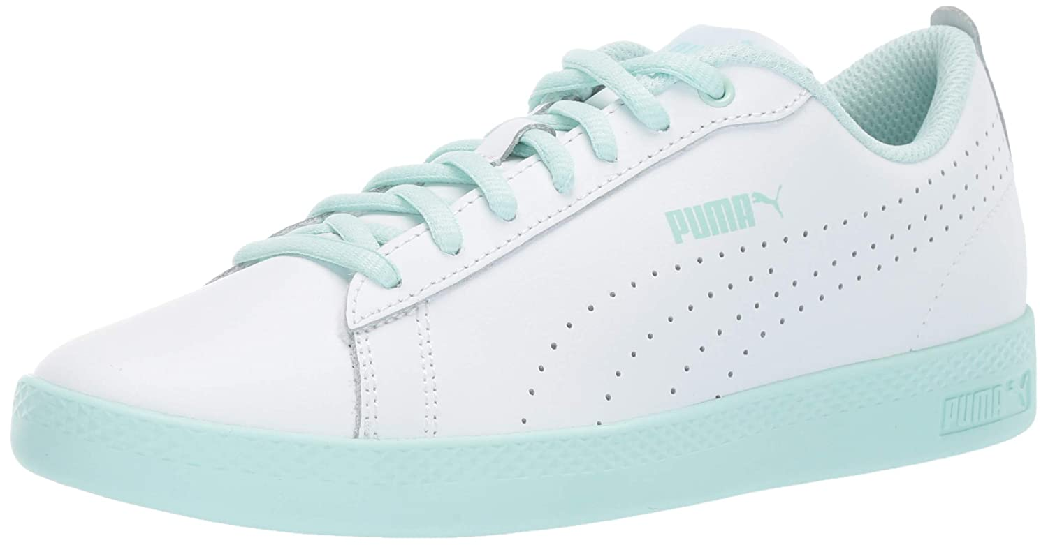 Amazon.com | PUMA Womens Smash WNS v2 Leather Perf Sneaker | Fashion Sneakers