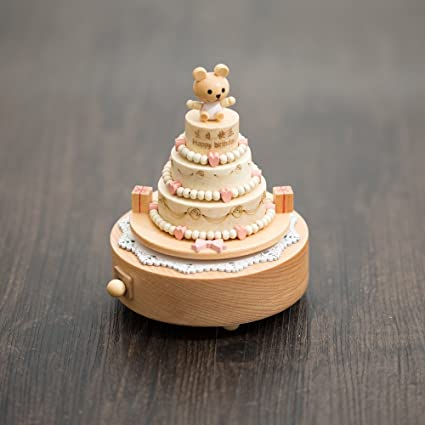 Marvelous Moonvin Music Box Wooden Happy Birthday Cake Musical Box For Funny Birthday Cards Online Aeocydamsfinfo